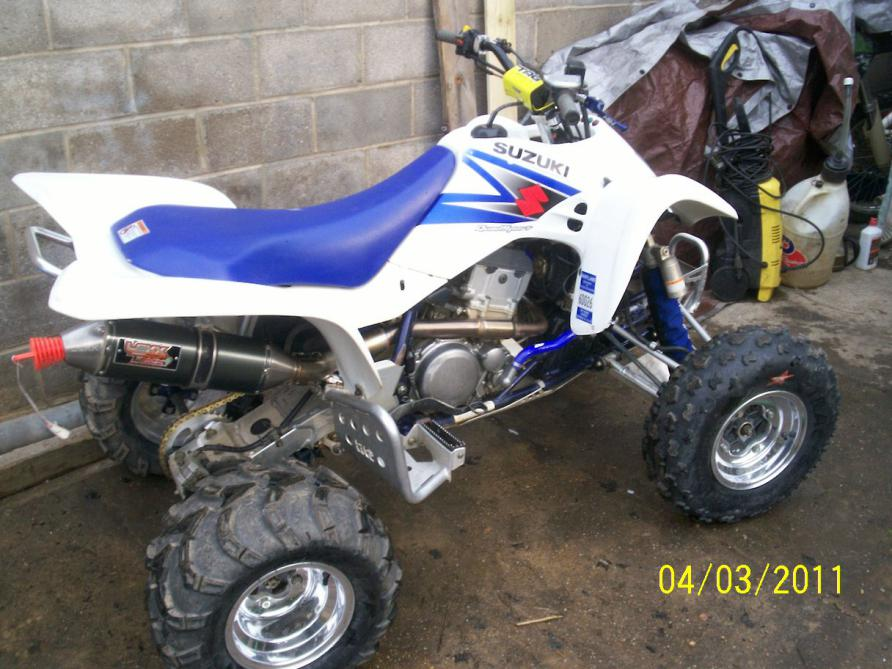 2005 Suzuki Ltz400 Many Extras Sell Or Trade