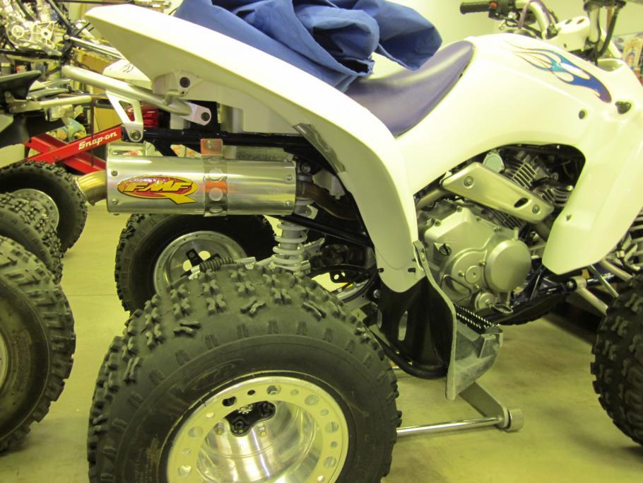 FMF Pipe Swing Arm Skid Plate LTZ250