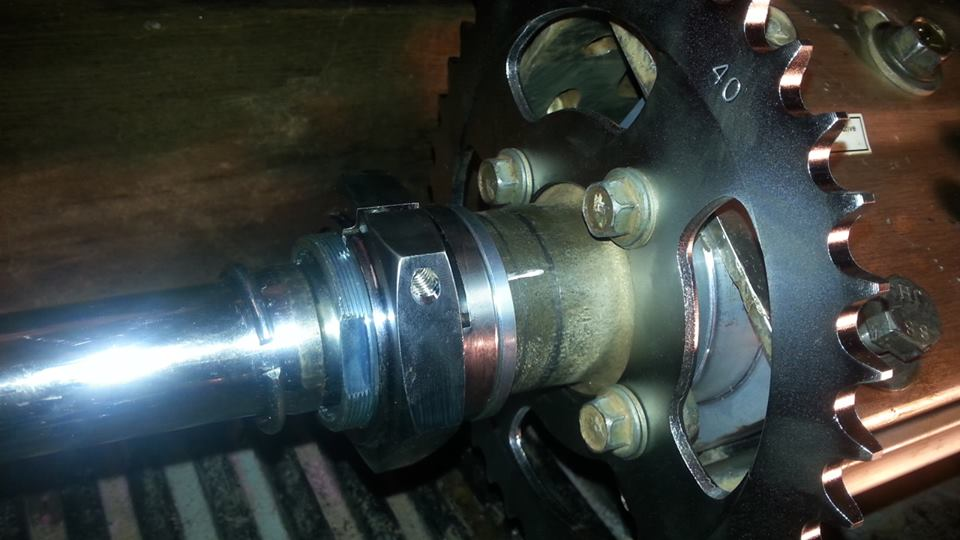 Rear axle and bearing carrier questions - Suzuki Z400 Forum