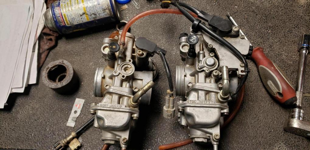 Got some fcr carbs ned help identifying - Suzuki Z400 Forum