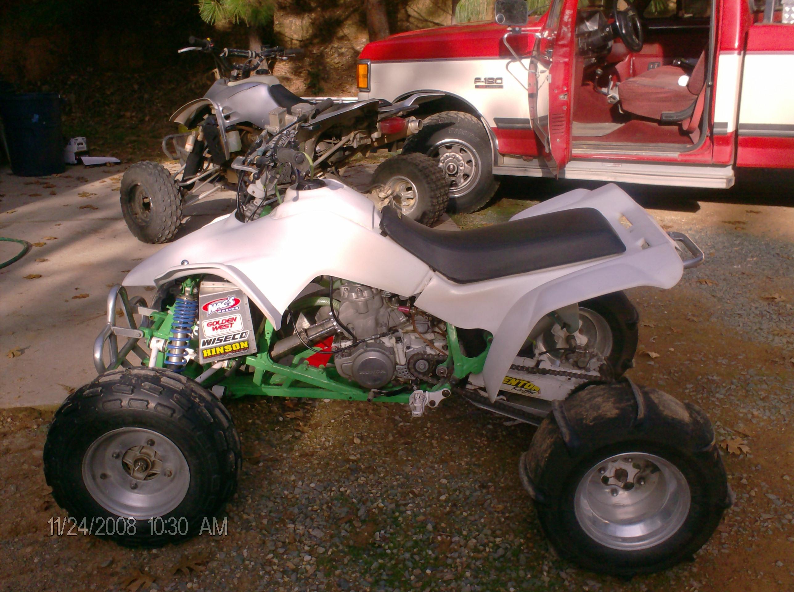 ... ::: > For sale forum > Complete Quads F/S > 86 Honda Trx 250r