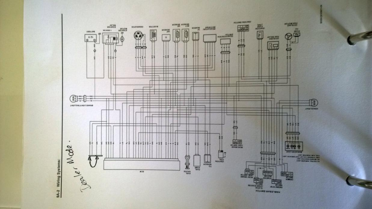 Ltz 400 Wiring Diagram Library Ltz400 Harness Starter Search For Diagrams U2022 05 Yfz 450