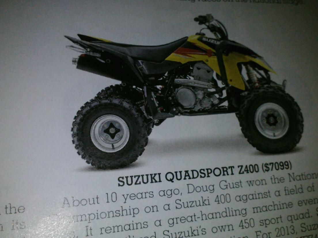 2003 suzuki Quadsport 80 Manual