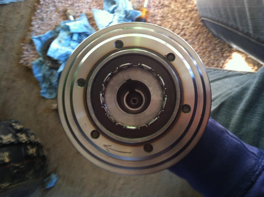 Confused About My Starter Clutch Problem