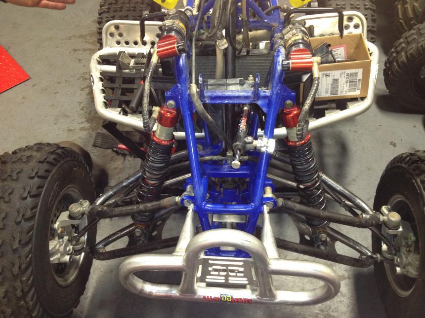 Elka stage 3 shocks front and rear - Suzuki Z400 Forum