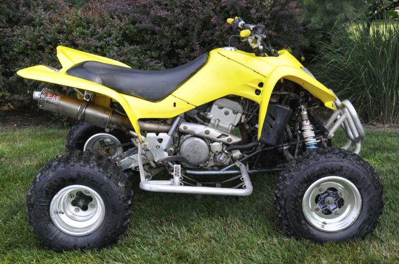 Suzuki Ltz Remove Rider Seat
