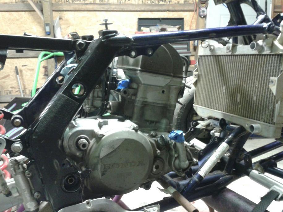 D Hybrid Ltr S Motor Right Side on Suzuki Ltr 450