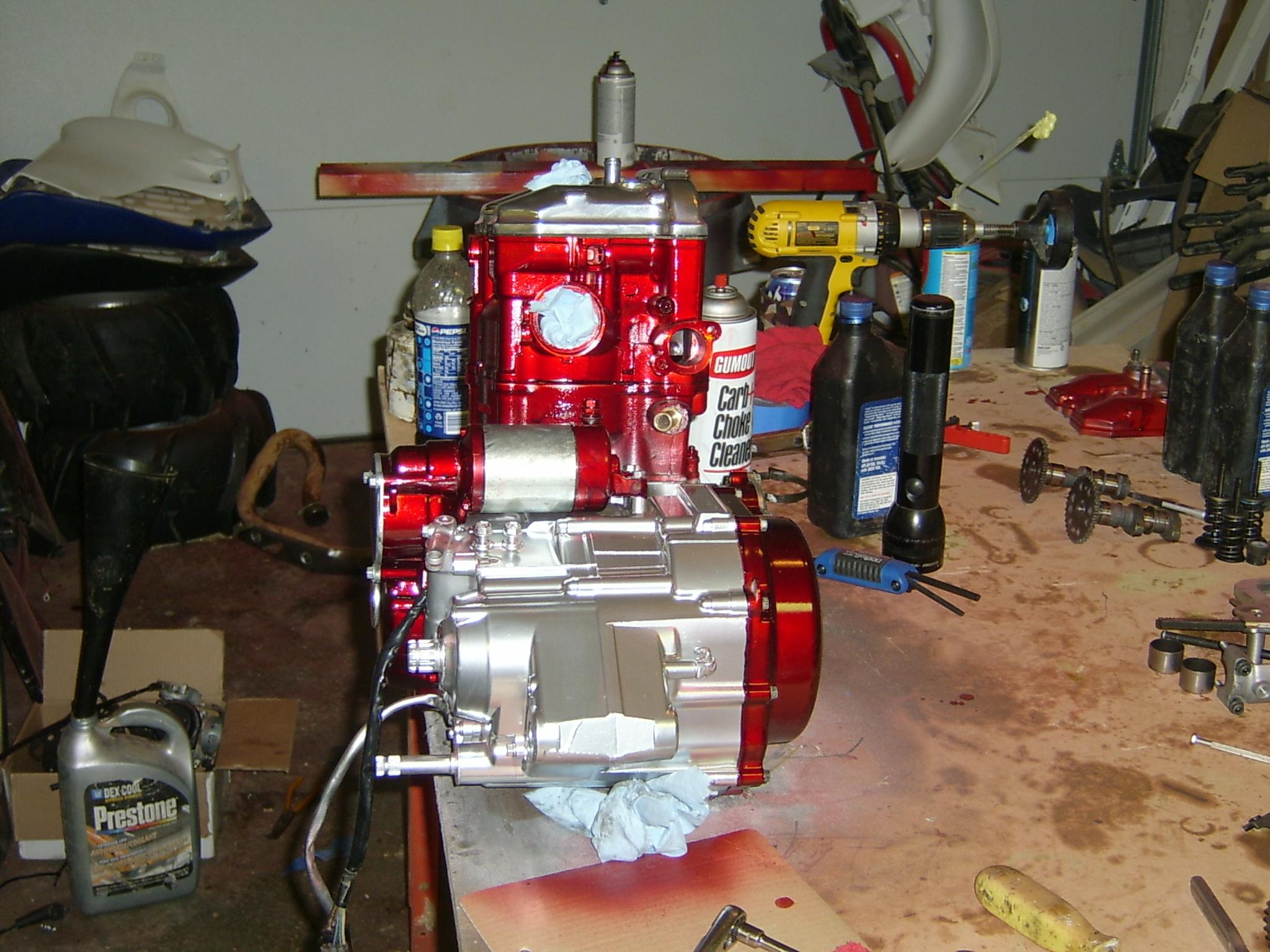 engine build done - suzuki z400 forum : z400 forums