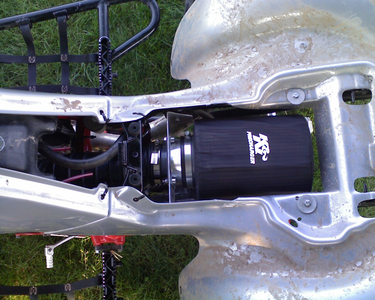 Z400 Custom Intake, Post Your Pics Of Intake - Suzuki Z400 Forum ...