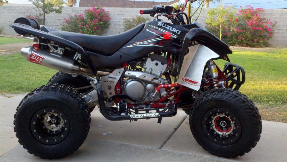 Suzuki Ltz Quadsport Exhaust