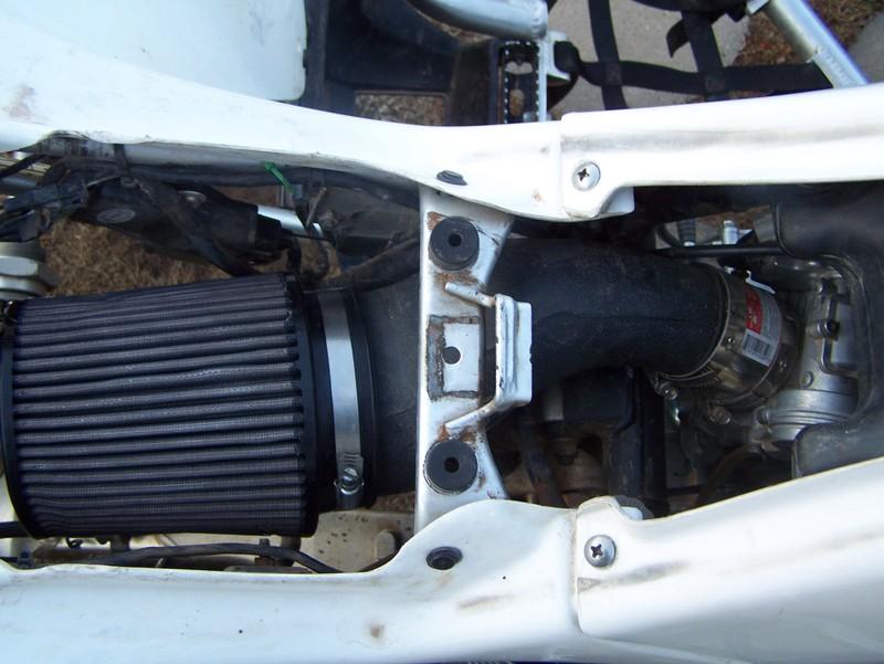 Using A Yfz450 Intake - Suzuki Z400 Forum : Z400 Forums
